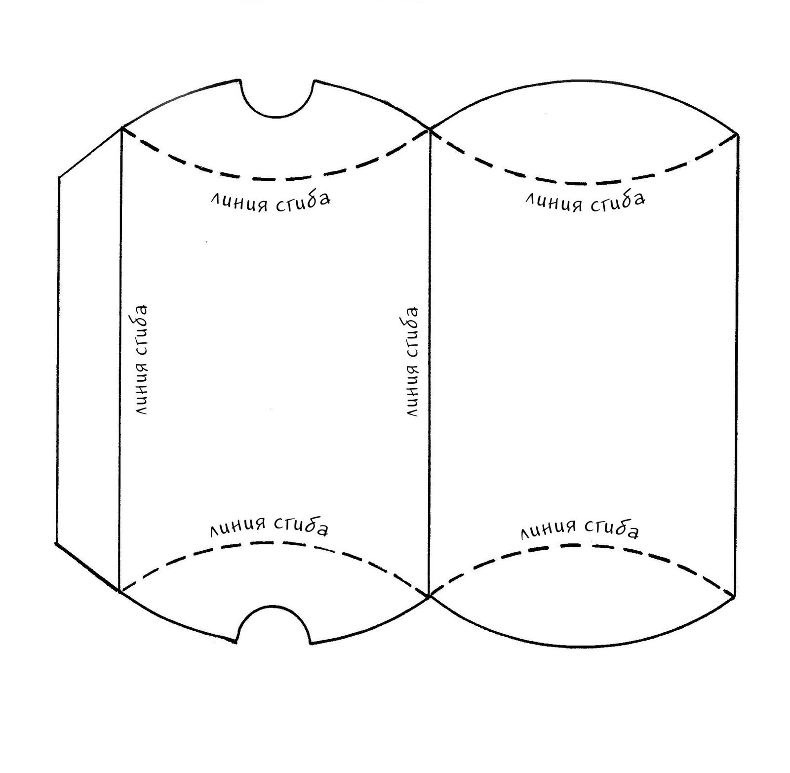 Выкройка картонной коробки органайзера своими руками