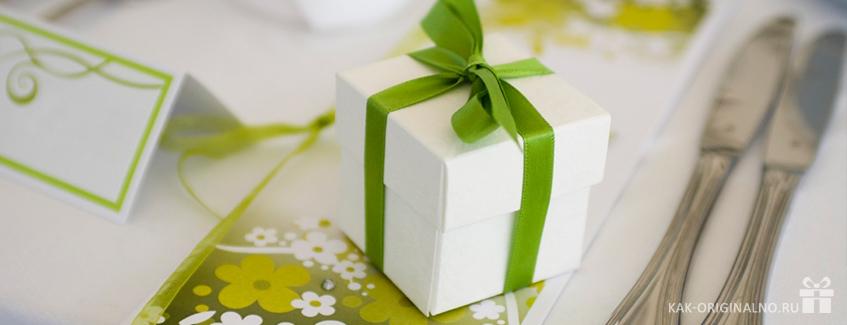 Оригинальные подарки гостям на свадьбе